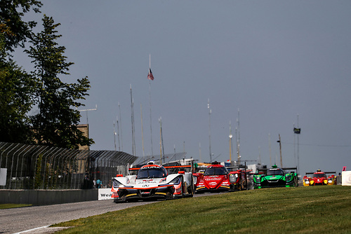 #6 Acura Team Penske Acura DPi, P: Dane Cameron, Juan Pablo Montoya, #99 JDC/Miller Motorsports ORECA 07, P: Stephen Simpson, Mikhail Goikhberg
