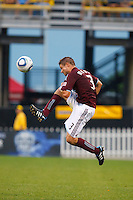 21 AUGUST 2010:  Colorado Rapids defender Drew Moor (3) during MLS soccer game between Colorado Rapids vs Columbus Crew at Crew Stadium in Columbus, Ohio on August 21, 2010.