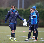16.3.2018: Rangers training:<br /> Niko Kranjcar and Declan John