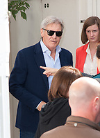 September 20 2017, PARIS FRANCE Actor Harisson Ford in Paris to promote<br /> his film Blade Runner especially in the program Vivement Dimanche presented<br /> by Michel Drucker the entertainer