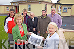 MEMORIES: Planning the reunion of Kilconly school pupils on 13th August, front l-r: Helen O'Connell, Patricia Boyle (Principal). Back l-r: Stephen Linnane, Eddie Costello, Joe Boyle, Donal Dalton, Alex Quane.