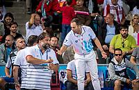 Semifinal Men's<br /> Serbia SRB (White Cup) Vs Croatia CRO (Blue Cup)<br /> Referees ALEXANDRESCU Adrian (ROU)<br /> Head Coach SAVIC Dejan Serbia SRB<br /> Day 14 76/07/2017<br /> XVII FINA World Championships Aquatics<br /> City Park - Varosliget Lake<br /> Budapest Hungary <br /> Photo Pasquale Mesiano/Deepbluemedia/Insidefoto