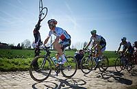 Zdenek Stybar (CZE/Etixx-QuickStep)<br /> <br /> 113th Paris-Roubaix 2015