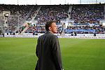 Sinsheim 24.01.2009, 1.Fu&szlig;ball Bundesliga Stadioner&ouml;ffnung bei 1899 TSG Hoffenheim in der Rhein-Neckar Arena, Hoffenheims Trainer Ralf Rangnick schaut sich im neuen Stadion um<br /> <br /> Foto &copy; Rhein-Neckar-Picture *** Foto ist honorarpflichtig! *** Auf Anfrage in h&ouml;herer Qualit&auml;t/Aufl&ouml;sung. Belegexemplar erbeten.