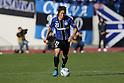 Akira Kaji (Gamba), NOVEMBER 26, 2011 - Football / Soccer : 2011 J.LEAGUE Division 1 between Gamba Osaka 1-0 Vegalta Sendai at Expo'70 Commemorative Stadium, Osaka, Japan. (Photo by Akihiro Sugimoto/AFLO SPORT) [1080]