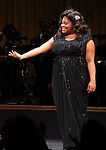 Amber Riley during the Curtain Call for Encores! 'Cotton Club Parade' at City Center in New York City on 11/17/2012