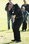 02/18/12 Pacific Palisades, CA: Ricky Barnes during the third round of the Northern Trust Open held at the Riviera Country Club