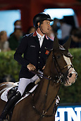 29th September 2017, Real Club de Polo de Barcelona, Barcelona, Spain; Longines FEI Nations Cup, Jumping Final; BRASH Scott (GBR)  riding Hello Forever during the first round of the Nations Cup