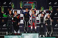 LMP3 Podium, #30 Extreme Speed Motorsports, Ligier JS P3, LMP3: Kris Wright, Stephen Simpson, #4 ANSA Motorsports, Ligier JS P3, LMP3: Dean Baker (M), Zacharie Robichon, #51 K2R Motorsports, Ligier JS P3, LMP3: Rob Hodes (M), Scott Andrews