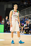 Laboral Kutxa's Jaka Blazic during Liga Endesa ACB at Barclays Center in Madrid, October 11, 2015.<br /> (ALTERPHOTOS/BorjaB.Hojas)