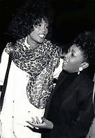 1988 <br /> Whitney Houston Anita Baker<br /> Photo By John Barrett-PHOTOlink.net/MediaPunch