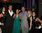 Ron Duguay (retired NHL player), Martha Byrne (host), Ken Daneyko (NJ Devils) at the benefit Angels for Hope which benefits St. Jude Children's Research Hospital on May 29, 2009 at the Estate at Florentine Gardens, Rivervale, NJ. (Photo by Sue Coflin/Max Photos)