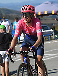 G. Lawson Craddock (USA) EF Education First on the final climb of Stage 15 of La Vuelta 2019  running 154.4km from Tineo to Santuario del Acebo, Spain. 8th September 2019.<br /> Picture: Karlis | Cyclefile<br /> <br /> All photos usage must carry mandatory copyright credit (© Cyclefile | Karlis)