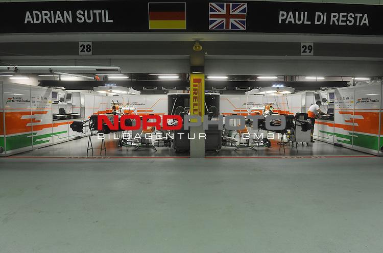 19.-22.09.2013, Marina-Bay-Street-Circuit, Singapur, SIN, F1, Grosser Preis von Singapur, Singapur, Force India Formula One Team <br />  Foto &copy; nph / Mathis