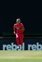 2nd November 2019; Western Australia Cricket Association Ground, Perth, Western Australia, Australia; Womens Big Bash League Cricket, Melbourne Renegades versus Sydney Sixers; Ellis Perry of the Sydney Sixers runs in to bowl - Editorial Use
