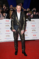 LONDON, UK. January 22, 2019: Bobbie Norris at the National TV Awards 2019 at the O2 Arena, London.<br /> Picture: Steve Vas/Featureflash