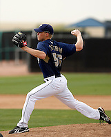 Mike Ekstrom - San Diego Padres - 2009 spring training.Photo by:  Bill Mitchell/Four Seam Images