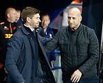 19.09.2019 Rangers v Feyenoord: Steven Gerrard and Jaap Stam