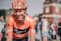 Taco van der Hoorn (NED/Roompot-Nederlandse Loterij) stays ahead of the chasing peloton and wins the 8th Primus Classic 2018 (1.HC)<br /> <br /> 1 Day Race: Brakel to Haacht (193km / BEL)