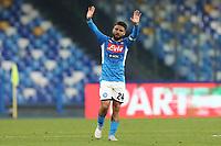 Lorenzo Insigne of Napoli greets <br /> Napoli 14-01-2020 Stadio San Paolo <br /> Football Italy Cup 2019/2020 SSC Napoli - AC Perugia<br /> Photo Cesare Purini / Insidefoto