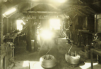 BNPS.co.uk (01202 558833)<br /> Pic: MitchellsAuctionHouse/BNPS<br /> <br /> PICTURED: The construction of concrete mattresses<br /> <br /> The fascinating archive of one of the engineers who designed the Mulberry Harbours which were installed off the Normandy coast following the D-Day landings has come to light.<br /> <br /> Colonel Vassal Charles Steer-Webster OBE helped create the giant, floating artificial harbours which protected anchored supply ships from German attacks.<br /> <br /> They were built in the dry docks on The Thames and Clyde and pulled across the channel by tugs before being hastily assembled.<br /> <br /> Col Steer-Webster was in almost daily contact with Churchill during their development ahead of June 6, 1944. Now, his personal effects, including a letter of thanks from Winston Churchill, are being sold by his nephew with Mitchells Auctioneers, of Cockermouth, Cumbria. <br /> <br /> The archive, which is expected to fetch £15,000, also features 150 photos showing Mulberry B's construction and use, as well as his medals.