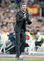 FC Barcelona's coach Luis Enrique Martinez during La Liga match. November 21,2015. (ALTERPHOTOS/Acero) /NortePhoto