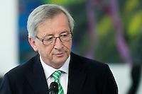 Jean-Claude Juncker, Premierminister von Luxenburg gibt am Donnerstag (16.05.13) im Bundeskanzleramt in Berlin ein Pressestatement ab. .Foto: Axel Schmidt/CommonLens