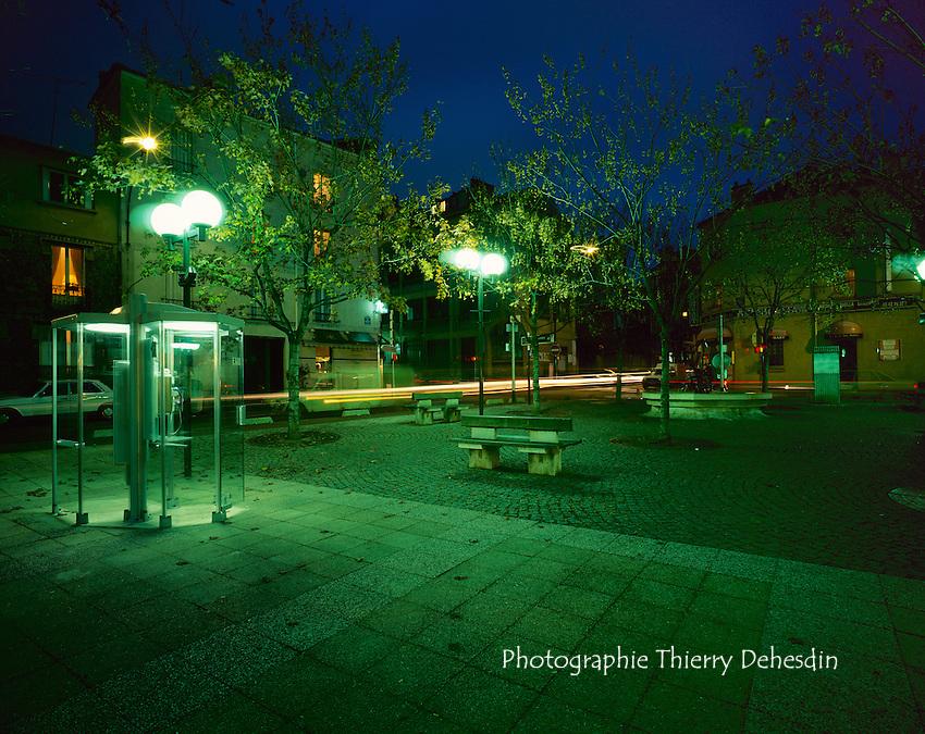 Issy les Moulineaux, 1999, Centre Ville