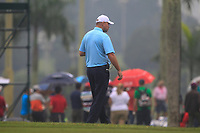 Thomas Bjorn (Captain Team Europe) on the 6th fairway during the Saturday Foursomes of the Eurasia Cup at Glenmarie Golf and Country Club on the 13th January 2018.<br /> Picture:  Thos Caffrey / www.golffile.ie