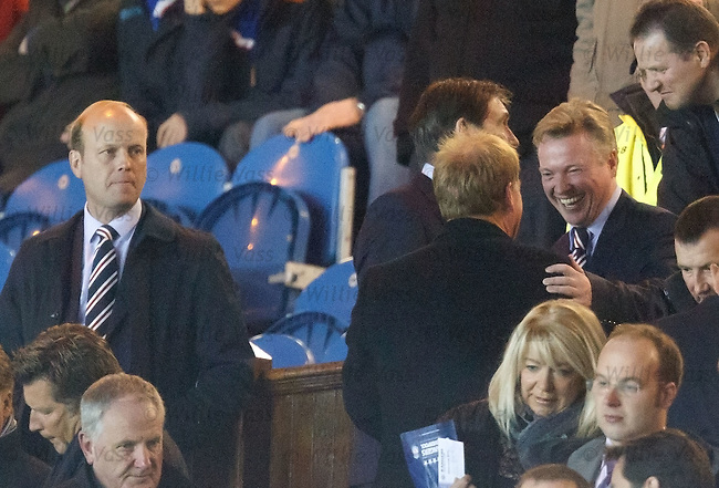 Craig Whyte laughing in the directors box