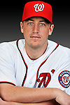 25 February 2011: Washington Nationals' pitcher Jordan Zimmermann poses for his Photo Day portrait at Space Coast Stadium in Viera, Florida. Mandatory Credit: Ed Wolfstein Photo