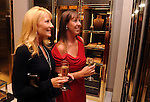 Krista Tankersley and Heather Hunt shop at the Alley Theater event at the Guuci Store in The Galleria Thursday Oct. 10,2013.(Dave Rossman photo)