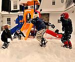 Rye 10-11: Campus snow