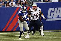 OT Sebastian Vollmer (Patriots) gegen DE Craig Marshall (Giants)