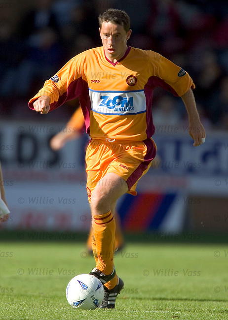 Phil O'Donnell, Motherwell.stock season 2004-2005.pic willie vass