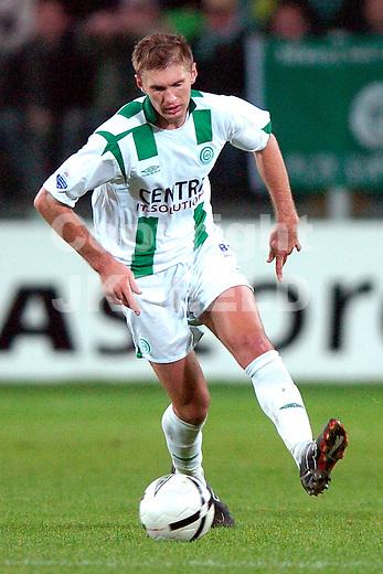 groningen - roda jc 04-11-2006 eredivisie seizoen 2006-2007  levchenko