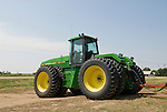 1993 John Deere 8960 tractor on the Great Plains of Colorado