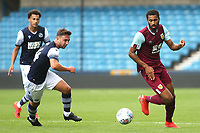 Christian N'Guessan of Burnley in action during Millwall Under-23 vs Burnley Under-23, Professional Development League Football at The Den on 9th August 2019