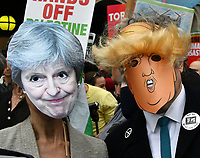 Together Against Trump Stop the State Visit demonstration<br /> Protest against US President Donald Trump's state visit to the UK.<br /> London, England on June 04, 2019.<br /> CAP/JOR<br /> ©JOR/Capital Pictures