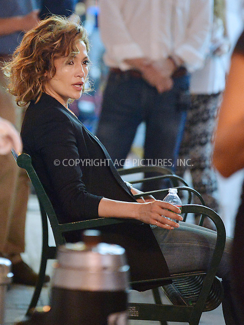 WWW.ACEPIXS.COM<br /> <br /> June 11 2015, New York City<br /> <br /> Actress Jennifer Lopez on the Brooklyn set of the new TV show 'Shades of Blue' on June 11 2015 in New York City<br /> <br /> By Line: Curtis Means/ACE Pictures<br /> <br /> <br /> ACE Pictures, Inc.<br /> tel: 646 769 0430<br /> Email: info@acepixs.com<br /> www.acepixs.com