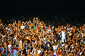Maracana stadium, Rio de Janeiro, Brazil. Football fans.