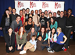 Celina Carvajal,Stark Sandss, Billy Porter & Annaleigh Ashford with the Company of 'Kinky Boots' attending the Meet & Greet the Cast & Creative Team of the New Broadway Musical 'Kinky Boots' at the New 42nd Street Studios in New York City on September 14, 2012