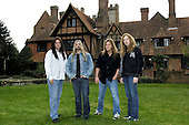 Megadeth - L-R: Shawn Drover, James LoMenzo, Glen Drover, Dave Mustaine - photographed exclusively at Hook End Studios, Berkshire, UK - 30 Apr 2006.  Photo credit: George Chin/IconicPix