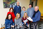 Don Rohan and Dochas actors front l-r: Siobhan McAulliffe, Charlene Brosnan, Rena Daly Back row: Mary Murphy, Brian Bowler, Patricia McSherry and Ryan Jones learning their lines for a Series of Short Plays  they will be presenting in the Killarney Avenue Hotel commencing January 29th