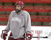 Phil Zielonka (Harvard - 72) - The Harvard University Crimson practiced on Friday, October 22, 2013, at Bright-Landry Hockey Center in Cambridge, Massachusetts.