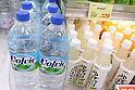 May 24, 2010, TOKYO - France's Volvic mineral water in 500 mL bottles are on sale at a supermarket in Tokyo, Japan, on May 24, 2010. Kirin Beverage Co., the distributor of Volvic mineral water, said on Friday it will voluntarily recall about 432,000 1-liter bottles of Volvic mineral water. The company folowed up on 10 consumer reports of bottles that were contaminated with mold. No health-related complaints have been filed to the company as of yet.