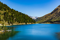 Austria, East-Tyrol: lake Obersee in Defereggen Valley, below Staller Sattel passroad | Oesterreich, Ost-Tirol: der Obersee im Defereggental unterhalb des Staller Sattel