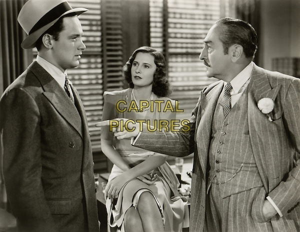 (L to R) William Holden, Barbara Stanwyck, Adolphe Menuou.in Golden Boy.*Filmstill - Editorial Use Only*.CAP/PLF.Supplied by Capital Pictures.
