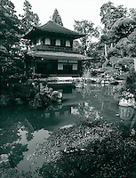Kinkaku-Ji Goldener Pavillon) in Kyoto, Japan