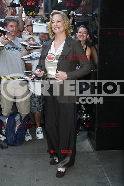 NEW YORK, NY - July 17, 2012: Cybill Shepherd at Good Morning America studios in New York City. &copy; RW/MediaPunch Inc. *NORTEPHOTO*<br /> **SOLO*VENTA*EN*MEXICO**<br /> **CREDITO*OBLIGATORIO** <br /> **No*Venta*A*Terceros**<br /> **No*Sale*So*third**<br /> *** No*Se*Permite Hacer Archivo**<br /> **No*Sale*So*third**